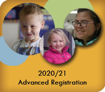 2020/21 Advanced Registration Begins Jan. 13, 2020